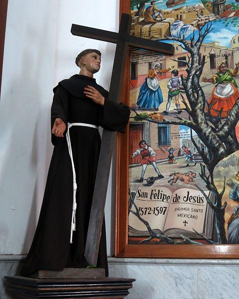 Basílica_de_Nuestra_Señora_de_Zapopan_(Jalisco,_Mexico)_-_statue,_St._Philip_of_Jesus