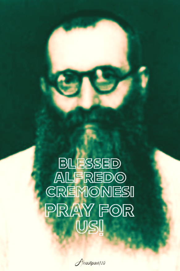 bl alfredo cremonesi pray for us 7 feb 2020