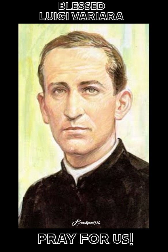 bl luigi variara 1 feb2020 pray for us