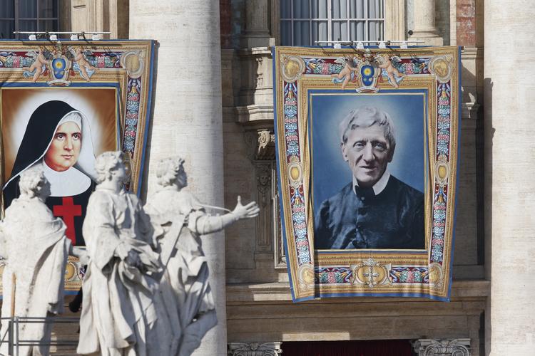 canonisation st josephine vannini and st john henry newman