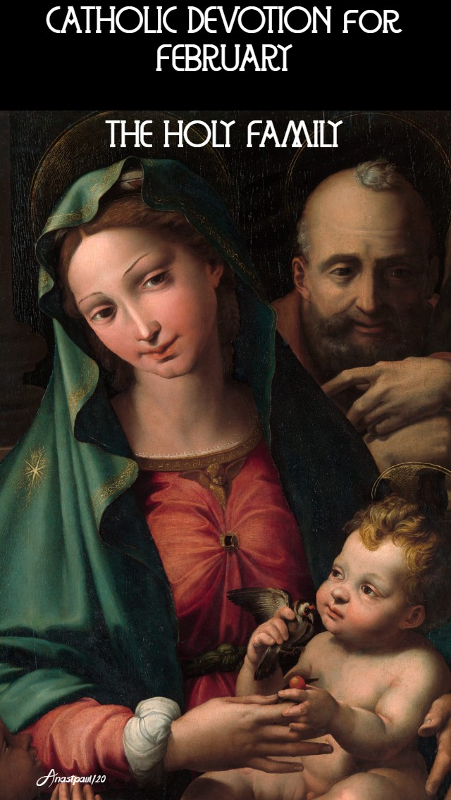 catholic devotion for february the holy family 1 feb 2020