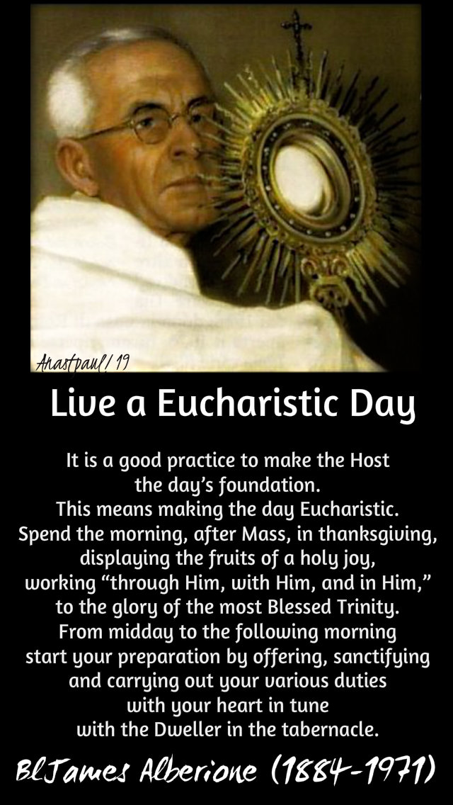 live-a-eucharistic-day-27-jan-2019-bl-james-alberione and 2 feb 2020