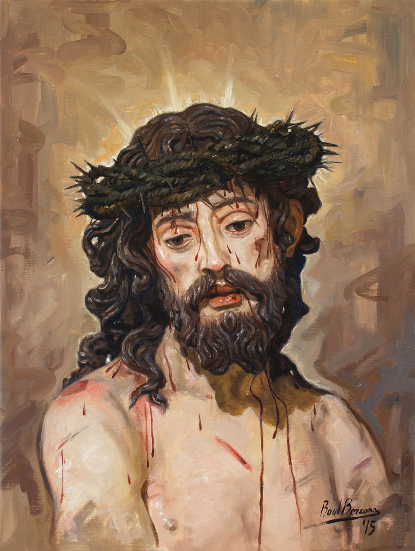 raul berzosa the suffering christ passion holy suffering face
