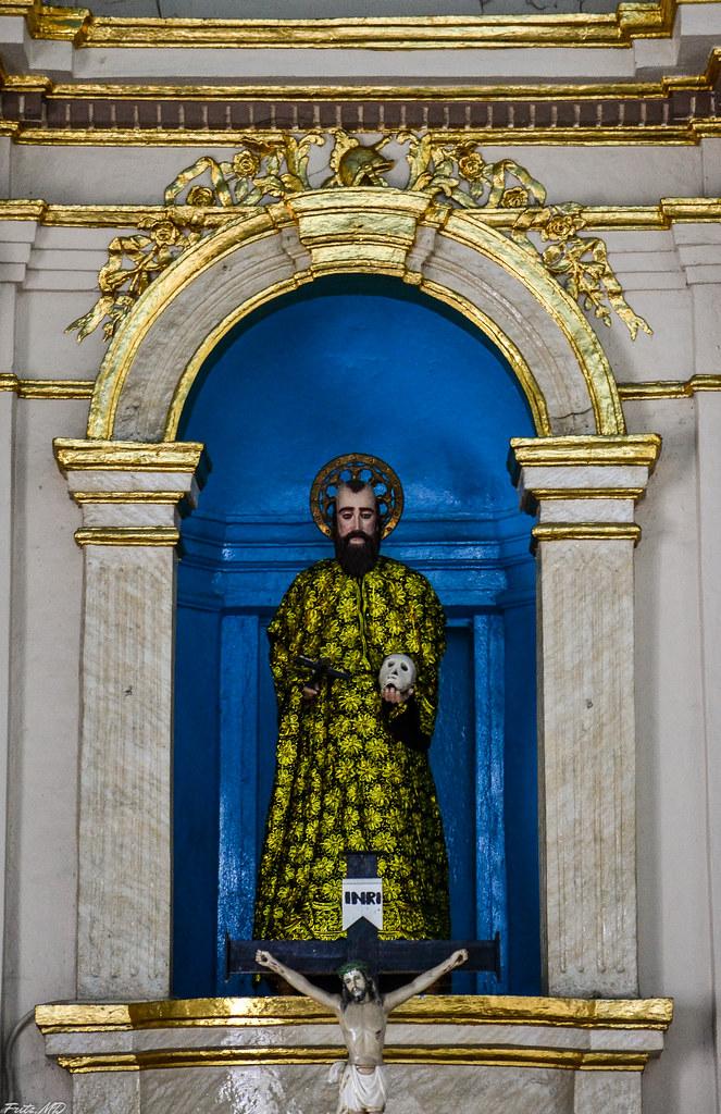 st william the hermit statue