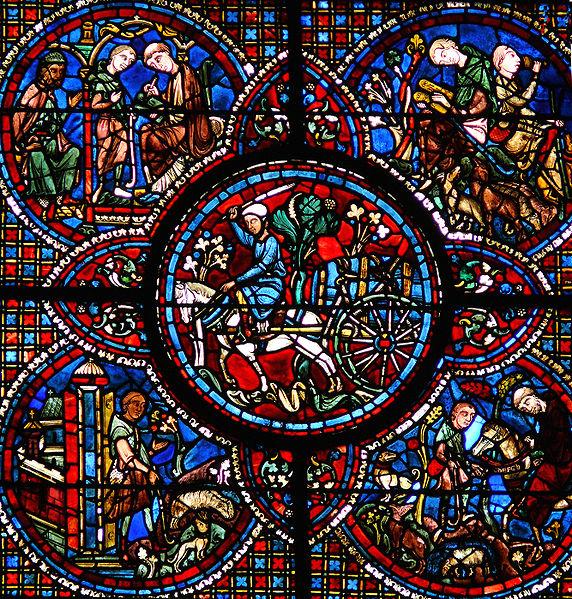 572px-Chartres_-_Vitrail_de_la_Vie_de_saint_Lubin- leobinus1