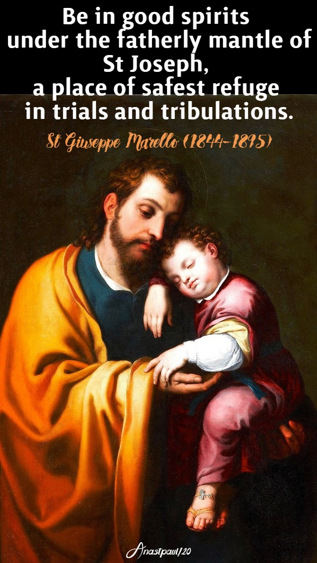 be in good spiritis - st giuseppe marello 19 march 2020 no 2