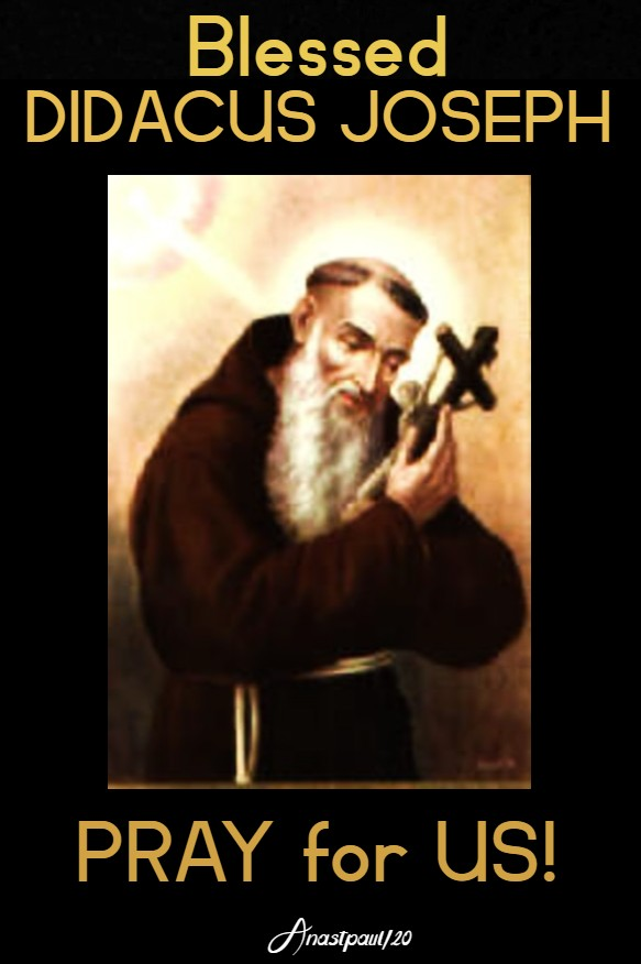 bl didacus joseph pray for us 24 march 2020