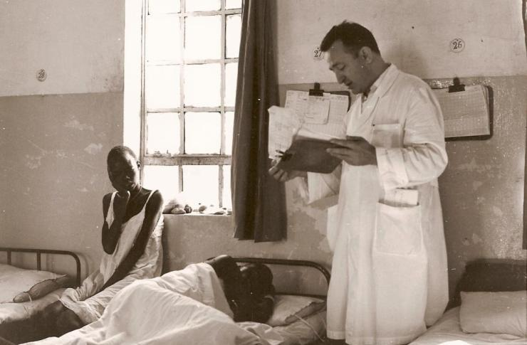bl giuseppe ambrosoli in the hospital young