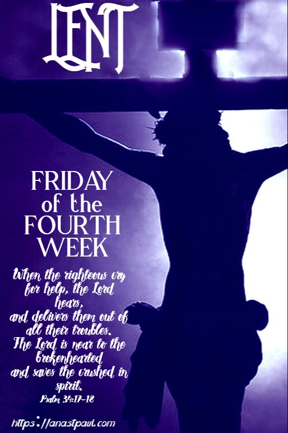 friday of the fourth week 27 march 2020