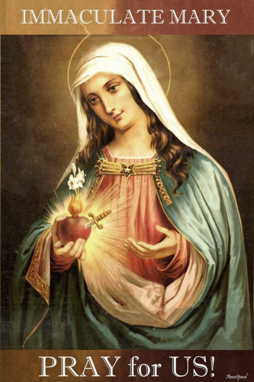 immaculate-mary-poray-for-us 20 march 2020 and 29 march 2019