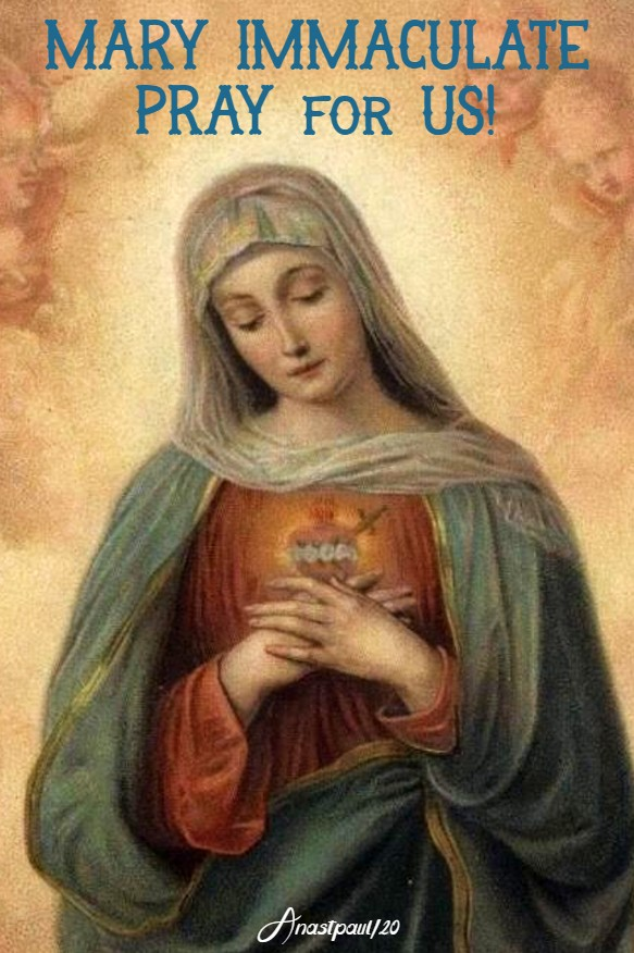 MARY immaculate pray for us 22 march 2020