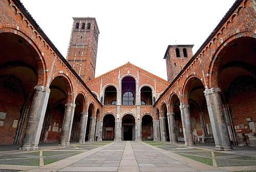 st ambrose basilica milan