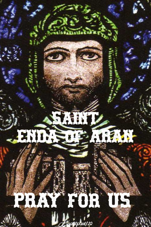 st enda of aran pray for us 21 march 2020