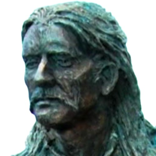 st enda statue head