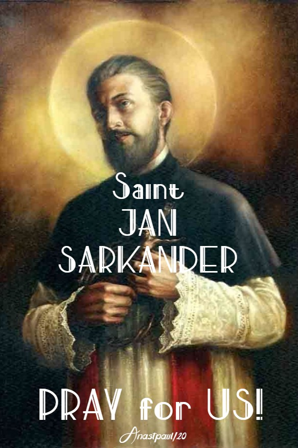 st jan sarkander pray for us 17 march 2020