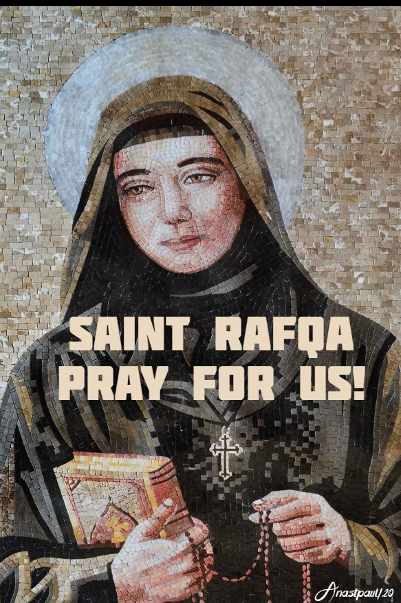 ST RAFQA PRAY FOR US 23 MARCH 2020