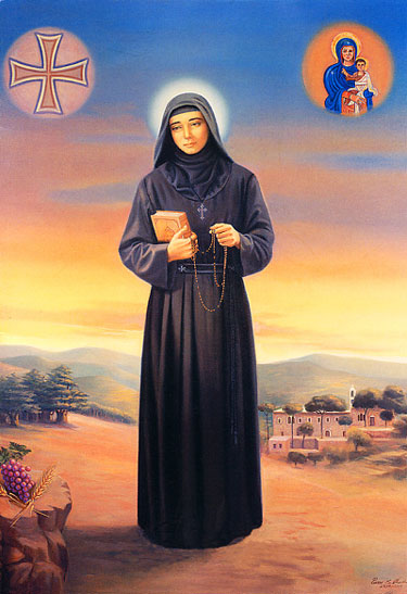st rafqa3 maronite