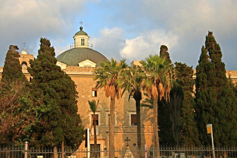 Stella-Maris-Monastery on mount carmel