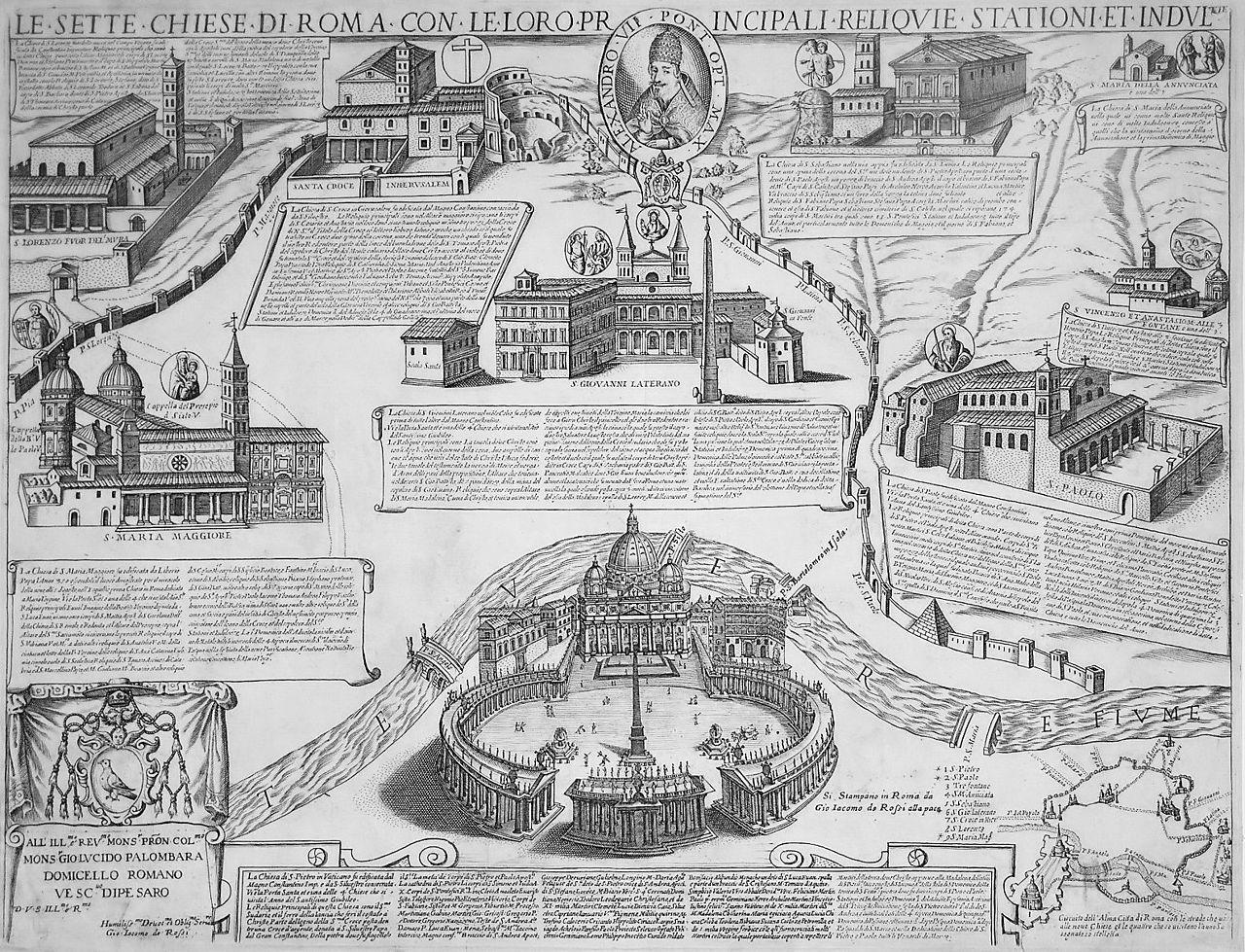 1280px-Seven_Churches_of_Rome_-_Giacomo_Lauro_-_1599