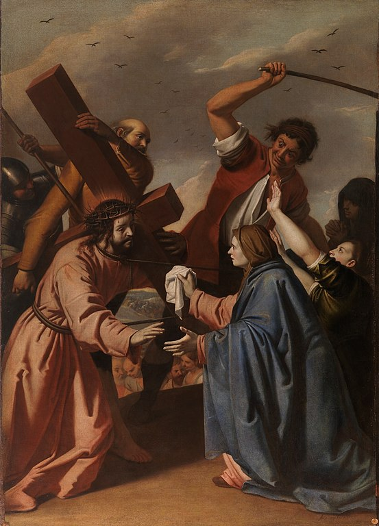 553px-stations of the cross - jesus meets veronica_(Museo_del_Prado)