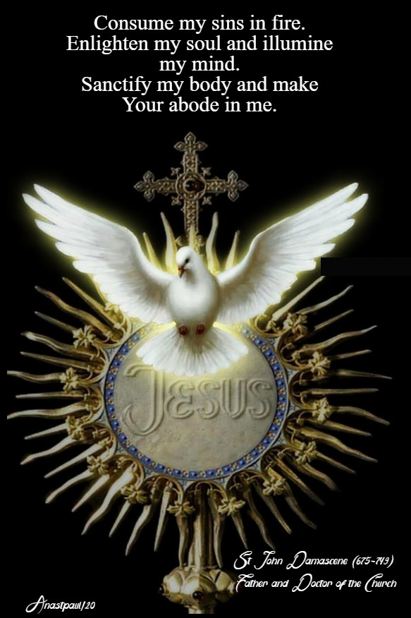 consume-my-sins-in-fire-...-and-make-your-abode-in-me-st-john-damascene-9-feb-2020 and 1 april 2020