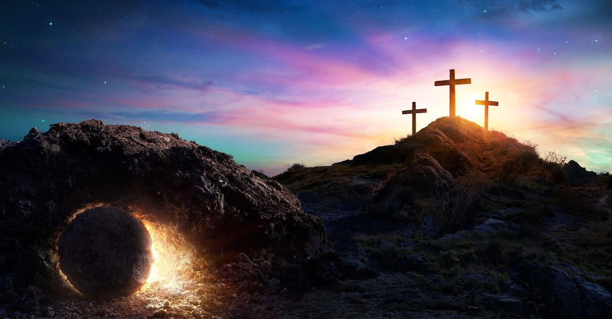 easter morning - the tomb empty resurrection gettyimages-1134712261-romolotavani1200