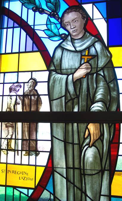 Findlay window St Peregrine