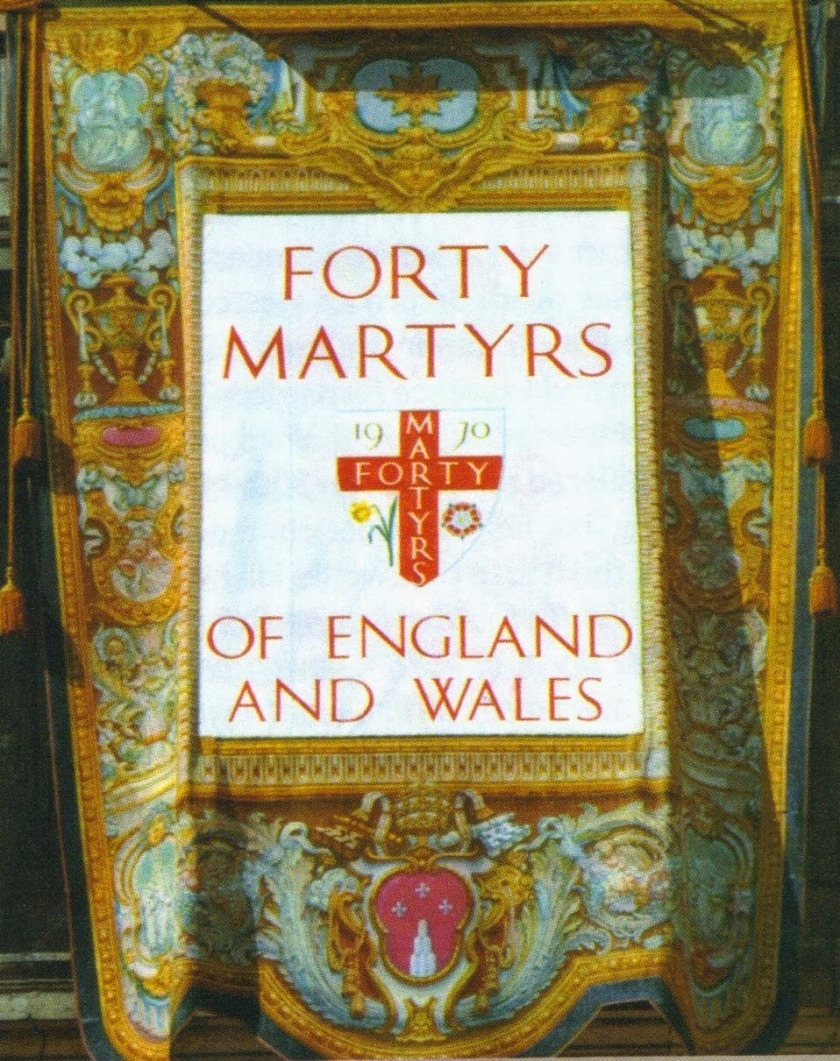 header for forty martyrs of england and wales banner