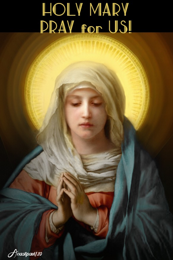 holy mary pray for us 23 april 2020