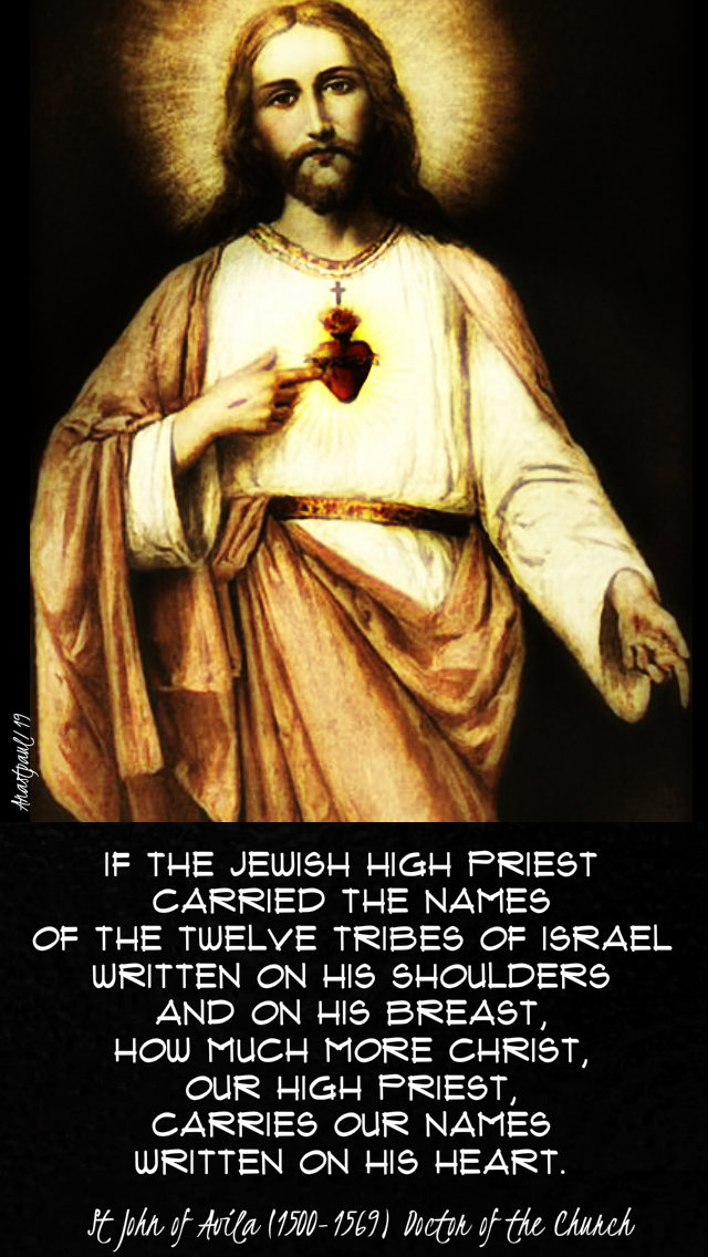 if-the-jewish-high-priests-st-john-of-avila-28-june-2019-sacred-heart and 19 april 2020 divine mercy sunday