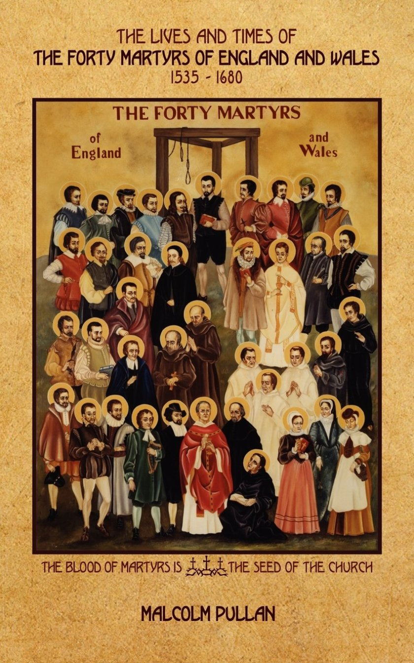martyrs of england and wales book cover
