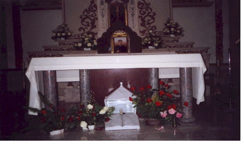 relics st david - st anthony of padua