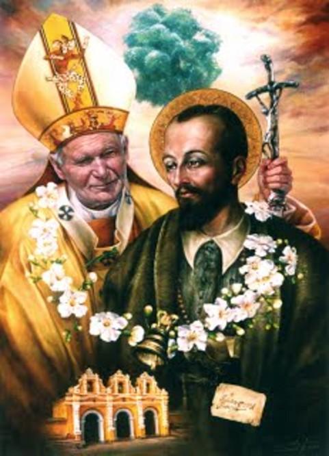 San Pedro de San José Betancur-5Awith st john paul