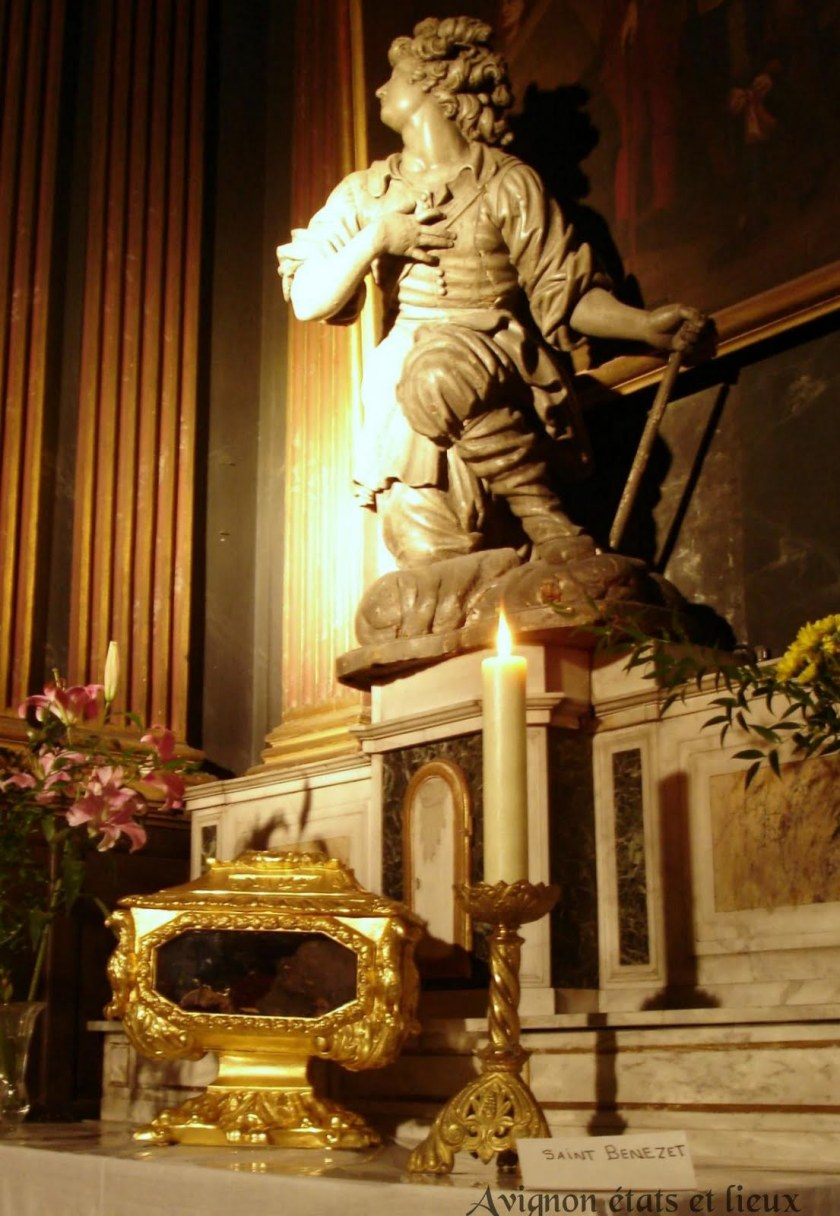 st benezet and relics