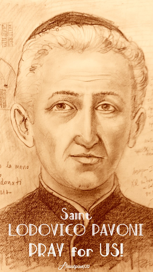st lodovico pavoni pray for us 1 april 2020