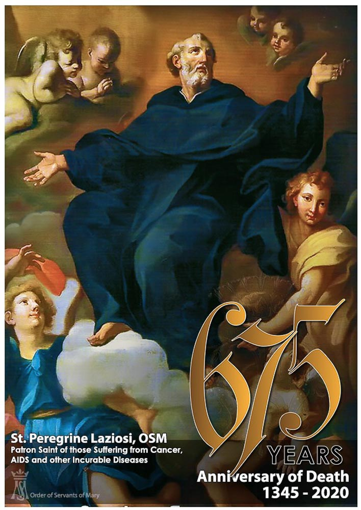 st peregrine-1- header 675 years anniversary of death 1345-2020