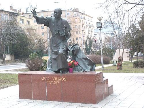statue of bl vilmos apor