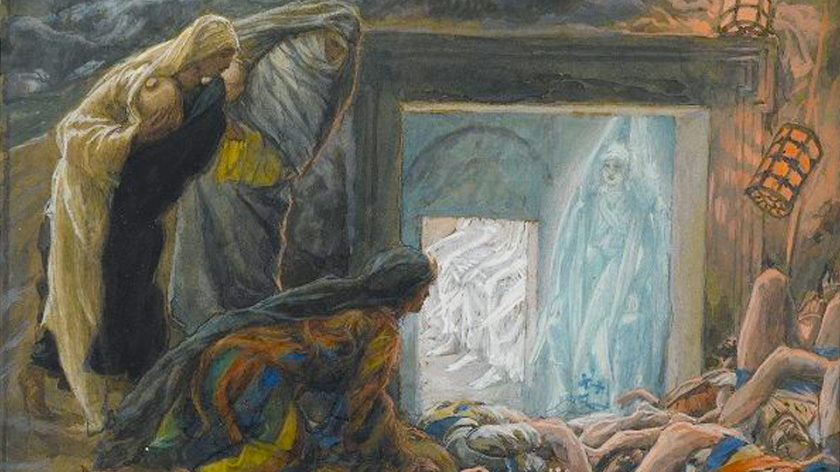 tissot - 3 women at the empty tomb