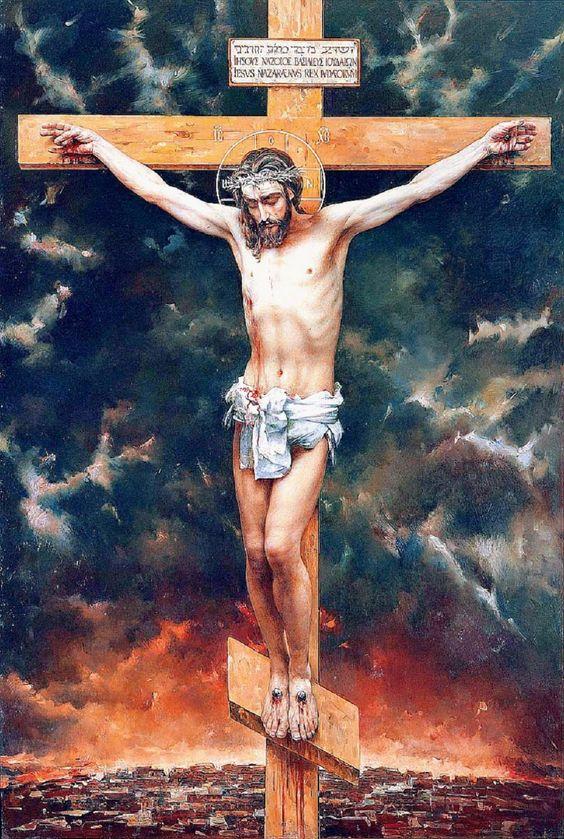 vasili nesterenko the crucifixion 1997