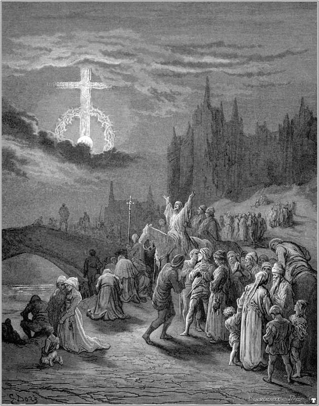 apparition of the Holy cross over Jerusalem - 7 may
