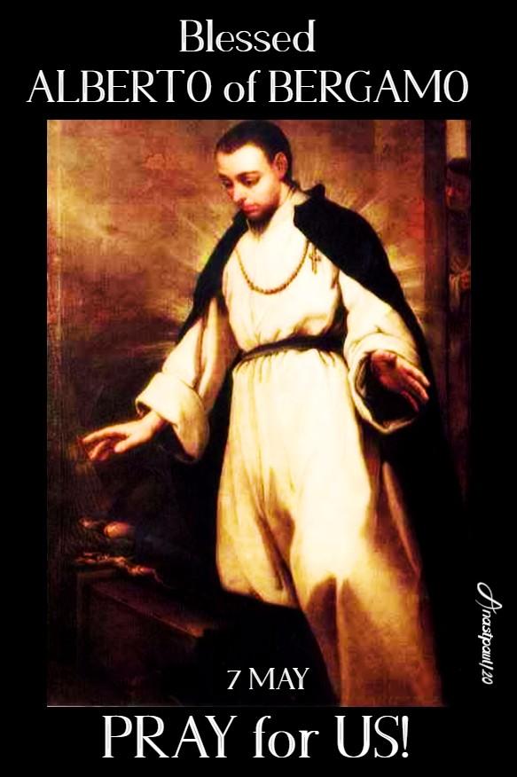 bl alberto of bergamo pray for us 7 may 2020