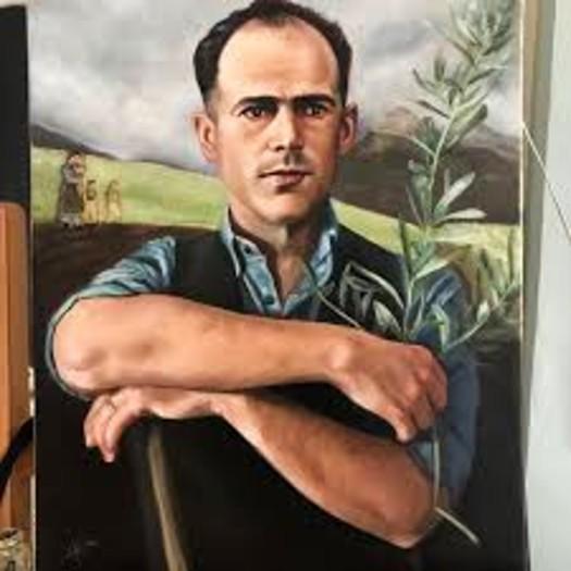 bl franz jagerstatter artwork as farmer