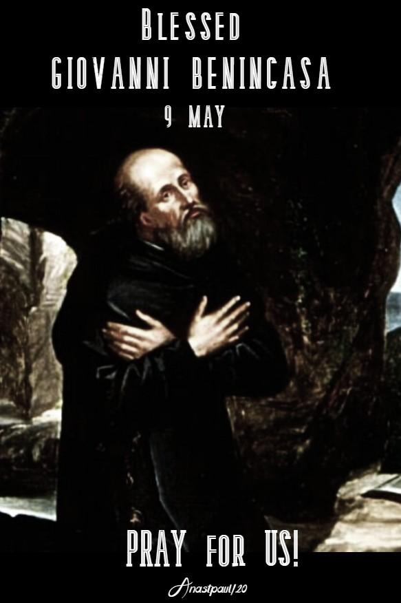 BL GIOVANNI BENINCASA PRAY FOR US 9 MAY 2020