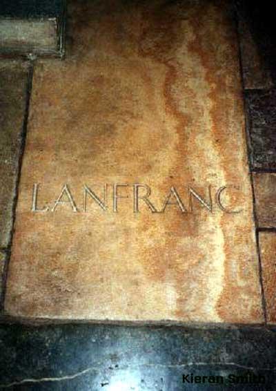 bl lanfranc tombstone