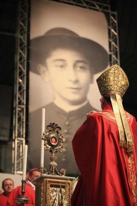 bl Rolando Rivi beatificazione a