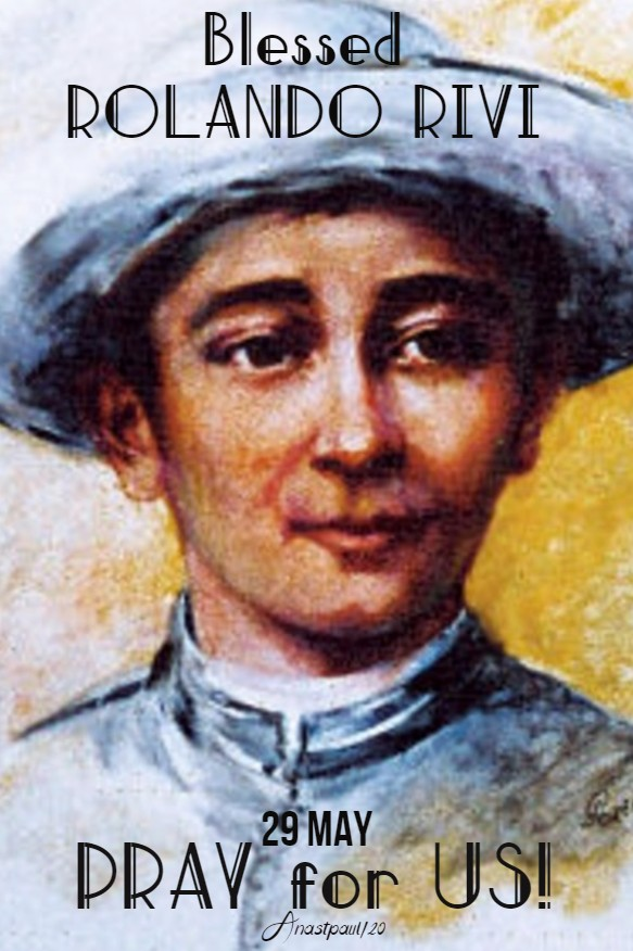 BL ROLANDO RIVI PRAY FOR US 29 MAY 2020