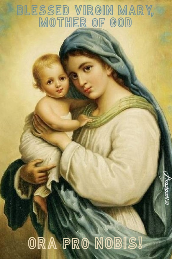blessed virgin mary mother of god pray for us 4 may 2020