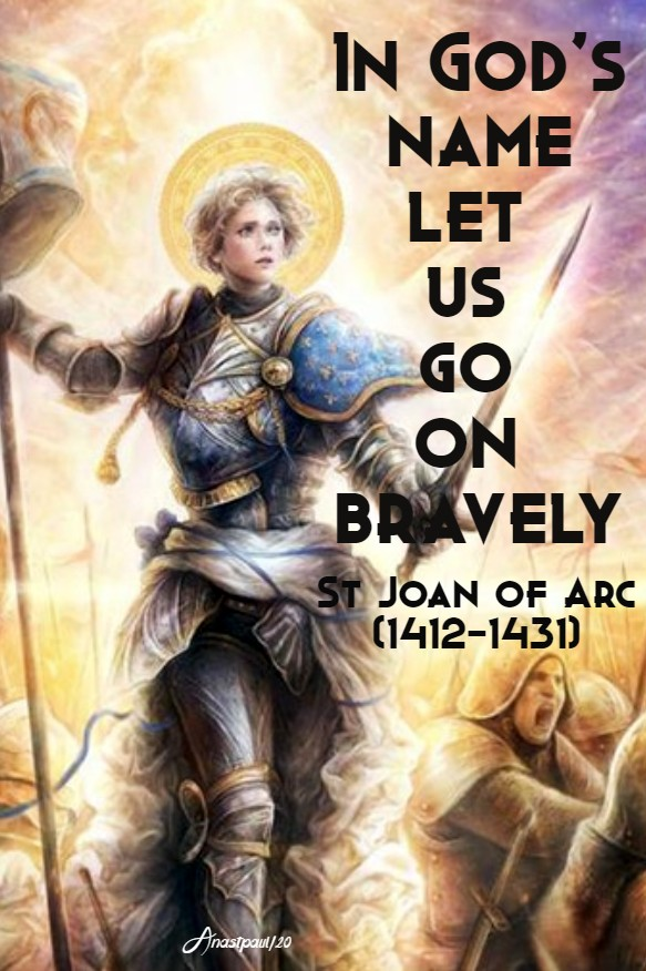 in god's name - st joan of arc 30 may 2020