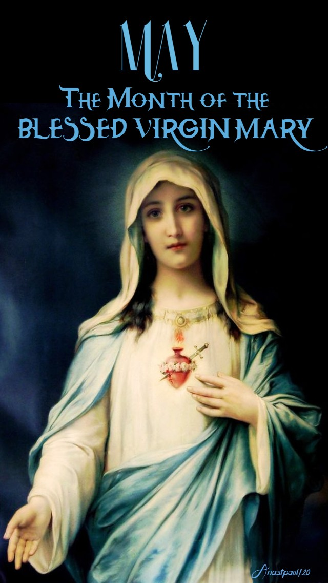 may the month of the blessed virgin mary 1 may 2020
