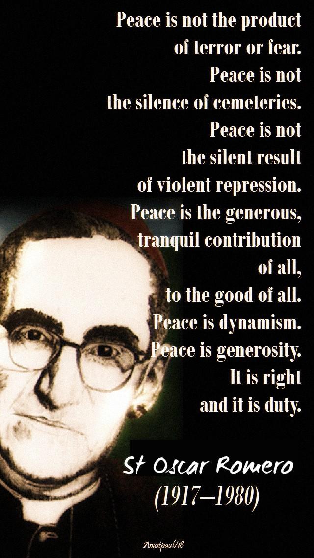 peace-is-not-st-oscar-romero-24-march-2019